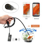 1.5M Wifi Endoscope Waterproof Inspection Borescope Camera Probe for IOS Android