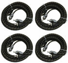 4) Rockford Fosgate RFI-16 16' Ft Twisted 2 Ch RCA Car Audio Signal Cables RFI16