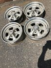 4 Vintage Cragar SS 15 X 7 Wheels Gasser Dragster Hot Rat Rod 1986 Crager