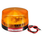 LED Warning Light Bulb Flashing Signal Tower Lamp DC 12V Yellow LTE-5061