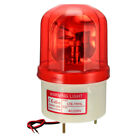 LED Warning Light Bulb Rotating Flashing Alarm Signal Tower Lamp AC 220V Red