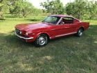 Mustang Real GT fastback A code 4 speed 1965 Ford Mustang Real GT fastback A code 4 speed 74099 Miles Red  289 V8 4 spee