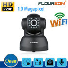 FLOUREON 720P Wifi WLAN H.264 Wireless PT ONVIF CCTV Security IP Camera TF Slot