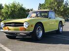 1973 Triumph TR-6  1973 Triumph TR6