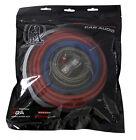 Bullz Audio 4 Gauge Car Amplifier/Amp Installation Power Wiring Kit   BGE4RP