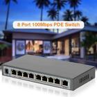 OWSOO 8 Port AF POE Switch 10/100Mbps POE Ethernet Port POE Function 130W I9P5