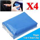 4PCS Magic Blue Clay Bar Car Clean Remove Marks Detailing Clay Muds+1p free box