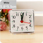 Square Small Bed Compact Travel Quartz Beep Alarm Clock Cute Portable Hot
