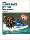 Clymer Manual Kawasaki Jet Ski Sport Manual #W802