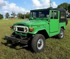 1975 Toyota Land Cruiser Soft Top 1975 Toyota Land Cruiser FJ40 Soft Top Gas