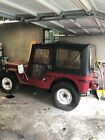1946 Jeep Willys CJ-2 2.2L (Collectible) 1946 Jeep Willys CJ-2 2.2L (Collectible)