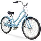 "26"" Firmstrong Women's CA-520 Three Speed Beach Cruiser Bicycle, Light Blue"