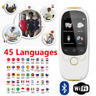 Smart Real Time 45 Languages Voice Translator for Learning Travel Meeting H7T4