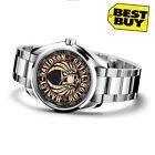 Harley Davidson Skull logo Sport Metal Watch