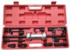 13pc Auto Body Dent Puller Repair Tool Kit w/10lb Slide Hammer Car Truck Auto