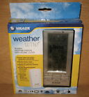 Meade TE688W Weather Forecaster with Barometric Pressure / Atomic Clock NEW