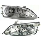 Headlight Set For 97 98 99 2000 2001 Lexus ES300 Left and Right With Bulb 2Pc