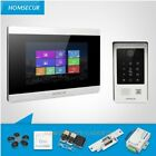 """HOMSECUR 7"""" Wired Video Door Entry Phone Call System with Touch Screen Monitor"""
