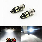 2x White H6M P15D 40SMD LED Motorcycle ATV Headlight Fog Driving Light Bulbs Kit