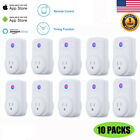 10xSmart WiFi Socket Plug Outlet Timer Control Power ON/OFF with Amazon Alexa US