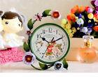 A06 Originality Iron Art Mute Living Room Bedroom Office Desk Clock Ornament O