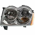 Halogen Headlight For 2005-2007 Jeep Grand Cherokee Left w/ Bulb CAPA