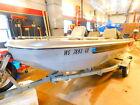 14' Hy-Ryder Tri-Hull 50HP Mercury w/ EZ Loader Trailer  T1280963
