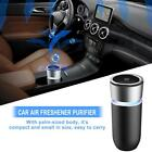 Car Small Air Freshener Purifier Colorful Lamp Cup USB Power Charging KQ-08