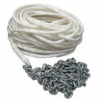 """POWERWINCH P10294 200' OF 1/2"""" ROPE 15' OF 1/4"""" HT CHAIN RODE"""