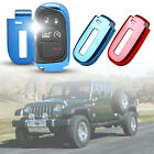 Car Key Fob Cover Keychain Ring Cover Holder Accessories For Jeep Dodge Chrysler