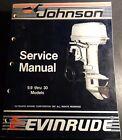 1988 OMC CC EVINRUDE JOHNSON 9.9 THRU 30 HP SERVICE MANUAL P/N 507660 (804)