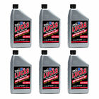 Lucas Oil SAE 20W-50 Performance Trans & Engine Motorcycle Oil, 1 Quart (6 Pack)