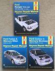 Lot of 3 Haynes Repair Manuals 36071,36045, 36006 Ford Ranger 1993 thru 2005