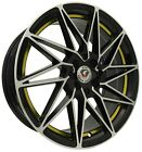 4pcs MTW 17inch 7JJ 4X100 4X114.3 ET42 Alloy wheel Cheap rim BLACK GOLD 7865-7