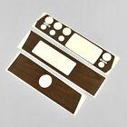 DMT Mopar 75-76 A Body Non Rallye Dash Woodgrain Overlay Vinyl Sticker