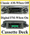 1964-1966 Ford Thunderbird Radio With Cassette Player Stereo Classic Look FS