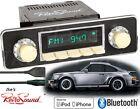 Retro Sound Model TWO-Iv Radio/BlueTooth/iPod/USB/Mp3/3.5mm AUX-IN-DIN Install