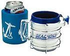 NEW SEACHOICE CHROME BRASS DRINK HOLDER SCP 79471