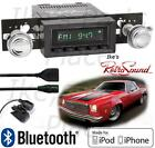 RetroSound 73-77 Chevelle Model TWO-B Radio/BlueTooth/iPod/USB/Mp3/3.5mm AUX-In
