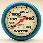 "Water Temp Analog 2 5/8"" Diameter Auto Meter 4231 Blue White Face AUTO METER"