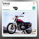 VINTAGE Kawasaki 1973 750 Z2-900 Z1 IMAGE BANNER NOS IMAGE REPRODUCTION