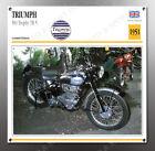VINTAGE Triumph 1951 500 Trophy TR 5 IMAGE BANNER NOS IMAGE REPRODUCTION