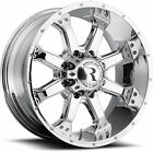 20x9 Chrome Raceline Assault 991C 6x5.5 +0 Wheels Trail Grappler LT275/65R20