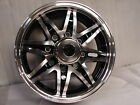 "New 16"" 16X6 8X6.5 bolt pattern Aluminum Trailer Wheel Rim Alloy SL513B 8 Lug"