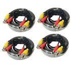 Premium Quality 4x50Ft Video and Power Cable for Night Ow CCTV Security Cameras