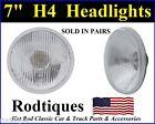 "7"" H4 HEADLIGHTS 2 LIGHT CONVERSION UPGRADE ROUND MAXTEL HEAD LAMPS 12 VOLT - 1"