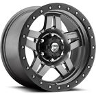 17x8.5 Gray Fuel Anza D558 6x5.5 +6 Wheels Nitto Trail Grappler 35X12.5X17 Tires