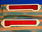 NOS 70-72 MONTE CARLO REAR SIDE MARKER LIGHTS 917107 917108 NEW GM SS454