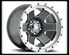 "15"" ULTRA 174 NOMAD GREY RIMS & TOYO 235-75-15 OPEN COUNTRY AT II TIRES WHEELS"