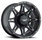 "17"" AMERICAN EAGLE 027 6X135 WHEELS W/ NITTO 37X13.50X17 MUD GRAPPLER TIRES RIMS"